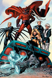 X-Men: Age of Apocalypse One Shot No1 Group: Magneto  Iceman and Quicksilver