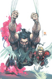 Uncanny X-Men No441 Cover: Wolverine  Nightcrawler and Angel