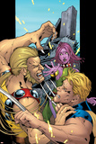 Exiles No59 Cover: Sabretooth  Mimic and Blink