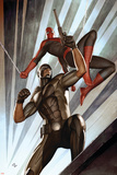 The Amazing Spider-Man No609 Cover: Spider-Man and Damon Ryder