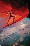 Silver Surfer No9 Cover: Silver Surfer