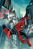 Timestorm 2009/2099: Spider-Man One-Shot No1 Cover: Spider-Man Fighting