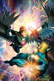 Nova No31 Cover: Darkhawk and Nova