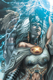 Astonishing X-Men No29 Cover: Storm and Emma Frost