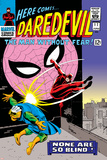 Daredevil No17 Cover: Daredevil  Spider-Man and Marauder
