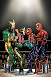 Spider-Girl No81 Cover: Spider-Girl  Spider-Man  Electro and Aftershock