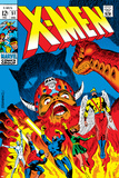 X-Men No51 Cover: Erik The Red  Cyclops  Angel  Iceman and X-Men