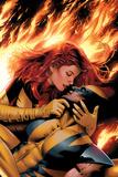 X-Men: Phoenix - End Song No3 Cover: Phoenix and Wolverine