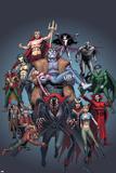 Handbook: Horror 2005 Cover: Frankenstein  Dracula  Werewolf  Zombie and Nightmare