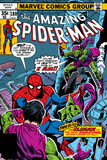 Spider-Man Family No6 Cover: Spider-Man and Green Goblin