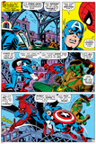 Captain America And The Falcon Group: Captain America  Falcon and Spider-Man