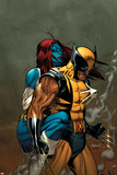 Wolverine No62 Cover: Wolverine and Mystique