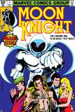 Moon Knight No1 Cover: Moon Knight