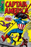 Marvel Comics Retro: Captain America Comic Book Cover No105  Batroc