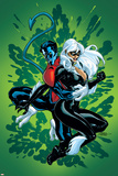 Spider-Man and The Black Cat No5 Cover: Nightcrawler and Black Cat
