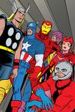 X-Statix No21 Group: Ant-Man  Captain America  Thor  Iron Man  Scarlet Witch  Hawkeye and Avengers