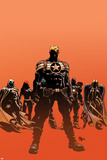 Secret Avengers No121 Cover: Steve Rogers  Moon Knight  Black Widow  War Machine  and Valkyrie