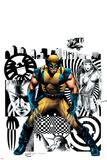 Wolverine No27 Cover: Wolverine  Nick Fury and Elektra