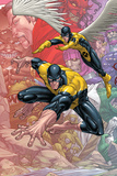 X-Men: First Class Finals No1 Cover: Beast and Angel