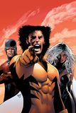 X-Men: The End - Heroes and Martyrs V2 No1 Cover: Wolverine  Storm and Cyclops