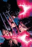 Psylocke No4 Cover: Psylocke and Wolverine
