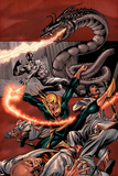 The Immortal Iron Fist: The Origin Of Danny Rand Cover: Iron Fist