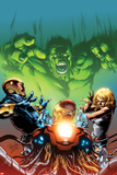 Incredible Hulks: Enigma Force No2 Cover: Hulk Screaming