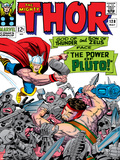 Marvel Comics Retro: The Mighty Thor Comic Book Cover No128  Hercules