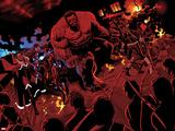 Avengers No24: Storm  Iron Man  Red Hulk  and Quake
