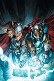 Secret Invasion: Thor No3 Cover: Thor and Beta-Ray Bill
