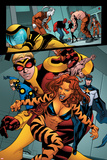 Avengers Academy No4: Tigra  Justice  Speedball  and Wasp Walking
