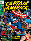 Marvel Comics Retro: Captain America Comic Book Cover No112  Album Issue!