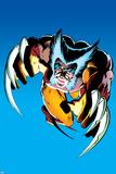 Wolverine No2 Cover: Wolverine Fighting