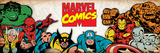 Marvel Comics Retro: Hulk  Thor  Spider-Man  Wolverine  Captain America  Iron Man  and Thing