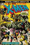 Marvel Comics Retro: The X-Men Comic Book Cover No96  Fighting the Night Demon (aged)