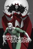 Avengers Origins: The Scarlet Witch & Quicksilver No1 Cover