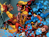 Avengers Academy No4: Tigra  Speedball  and Wasp Fighting