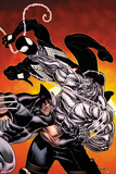 Avengers: X-Sanction No4 Cover: Cable  Wolverine  and Spider-Man Fighting