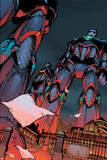 Decimation: House Of M Day After No1 Cover: Sentinel Crouching