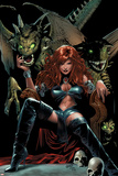 X-Men The End No5 Cover: Black Queen