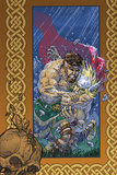 Thor: Blood Oath No3 Cover: Thor and Hercules