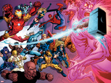 Avengers Academy No11: Iron Man  Thor  Iron Fist  Luke Cage  Wolverine  Spider-Man and Others