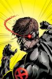 Uncanny X-Men No391 Cover: Cyclops