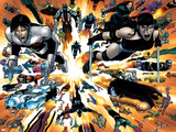 Wolverine No26 Group: Elektra and Northstar
