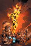 X-Men No184 Cover: Sunfire