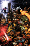 X-Men No207 Cover: Wolverine and Cable