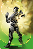Iron Man 20 No10 Cover: War Machine Standing