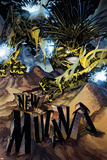 New Mutants No5 Cover: Warlock