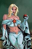 Uncanny X-Men Annual No2 Cover: Emma Frost
