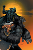 X-Men No176 Cover: Storm  Black Panther and Super Apes